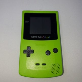 Console Game Boy Color Green