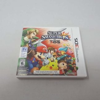 Super Smash Bros for Nintendo 3DS (Cib)