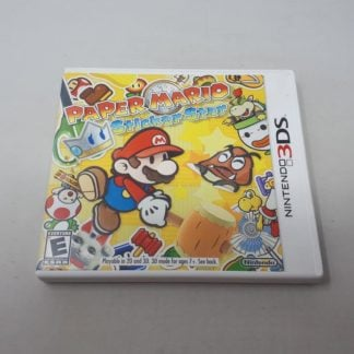 Paper Mario: Sticker Star Nintendo 3DS (Cib)