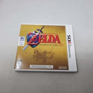 Zelda Ocarina of Time 3D Nintendo 3DS (Cib)