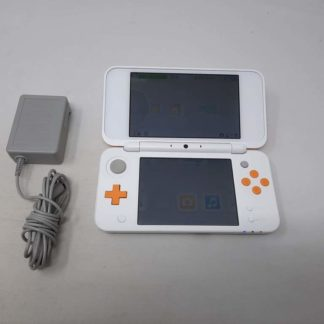 New Nintendo 2DS XL White & Orange Nintendo 3DS