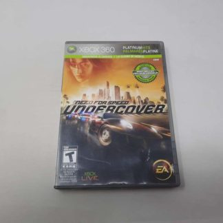 Need For Speed Undercover [Platinum Hits] Xbox 360 (Cib)