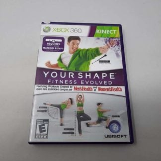 Your Shape: Fitness Evolved Xbox 360 (Cib)