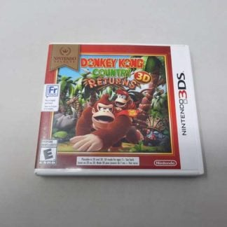 Donkey Kong Country Returns 3D Nintendo 3DS Nintendo Selects (Cb)