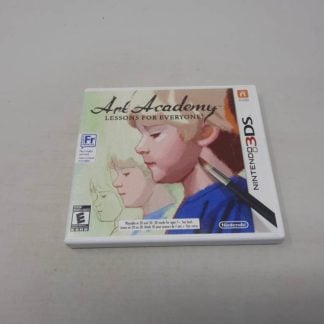 Art Academy: Lessons For Everyone Nintendo 3DS(Cib)