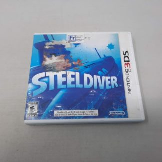 Steel Diver Nintendo 3DS (Cib)(Condition-)