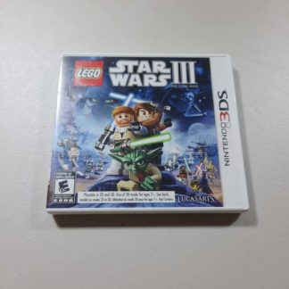 LEGO Star Wars III: The Clone Wars Nintendo 3DS (Cib) LEGO Star Wars III: The Clone Wars Nintendo 3DS (Cib)