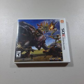 Monster Hunter 4 Ultimate Nintendo 3DS (Cib)