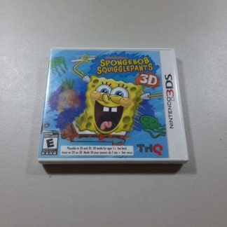 SpongeBob SquigglePants UDraw Nintendo 3DS (Cib)