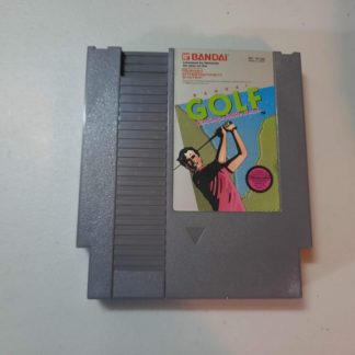 Bandai Golf Challenge Pebble Beach NES (Loose)