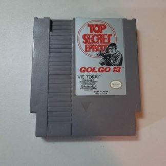 Golgo 13 Top Secret Episode NES (Loose)