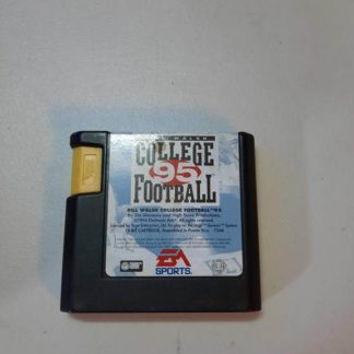 Bill Walsh College Football 95 Sega Genesis (Loose)