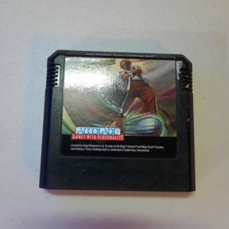 Jack Nicklaus Power Challenge Golf Sega Genesis (Loose)