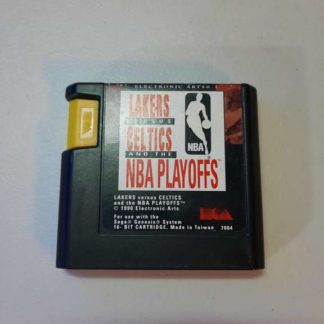 Lakers vs. Celtics and the NBA Playoffs Sega Genesis (Loose)