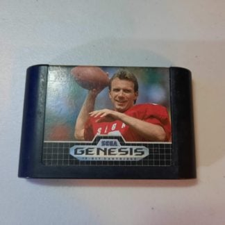 Joe Montana Football Sega Genesis (Loose)