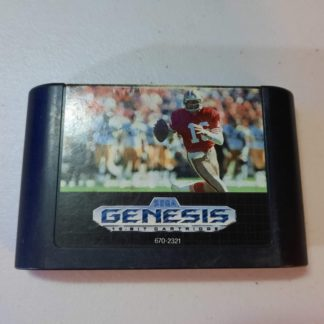 Sports Talk Football '93 Starring Joe Montana Sega Genesis (Loose)